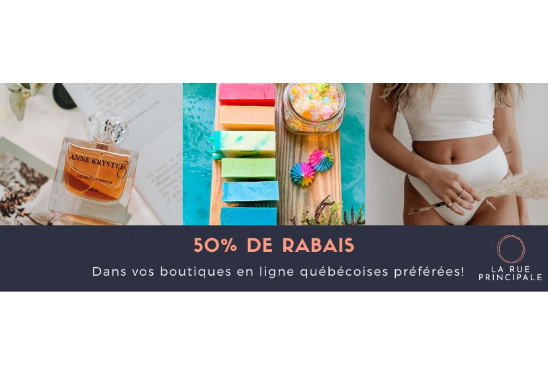 La Rue Principale - Bons cadeaux à 50%