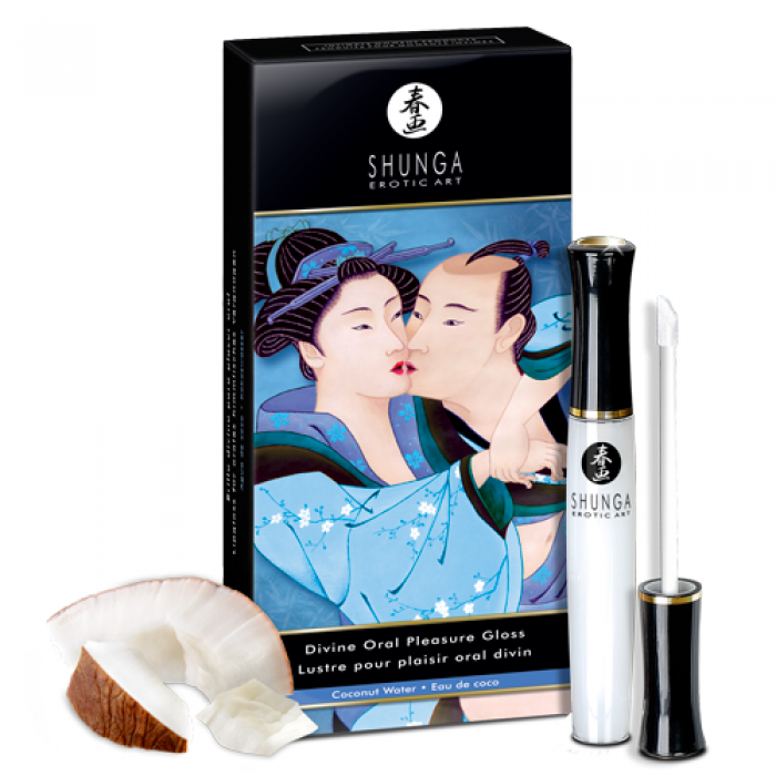Baume à lèvres SHUNGA LUSTRE PLAISIR ORAL DIVIN (EAU DE COCO)