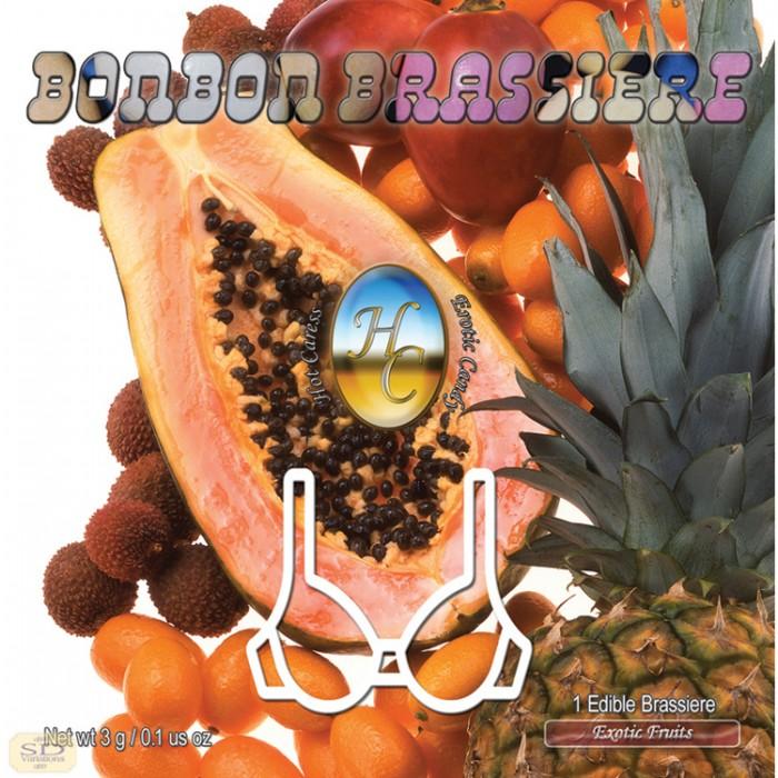 BRASSIERE BONBON FRUITS EXOTIQUES