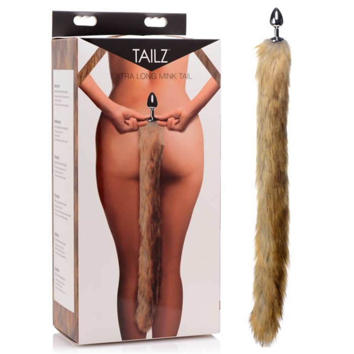 EXTRA LONG MINK TAIL