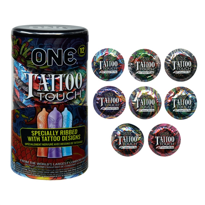 CONDOM ONE TATTOO TOUCH 12