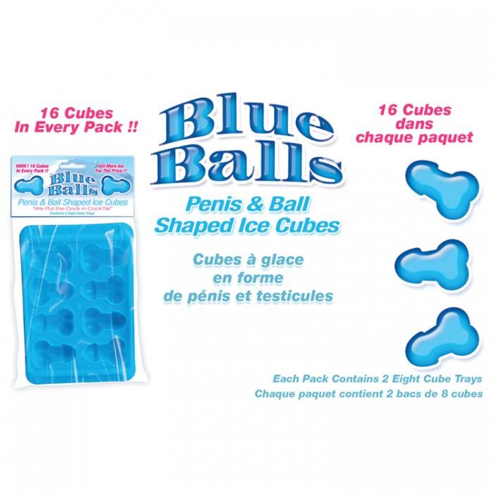BLUE BALLS PENIS ICE CUBE TRAYS
