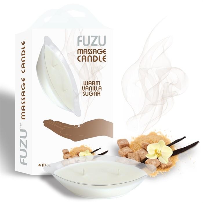 4oz/113gr - Candle Warm Vanilla Sugar - White