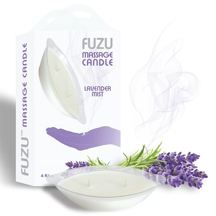 4oz/113gr - Candle Lavender Mist - White