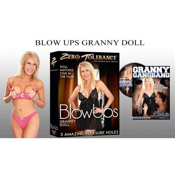 BLOWUPS GRANNY DOLL