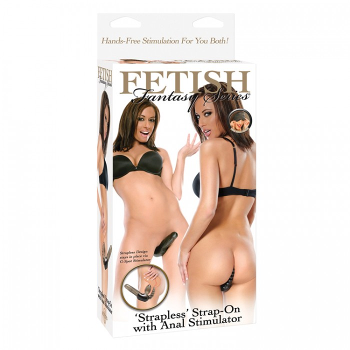 FF STRAPLESS STRAP-ON WITH ANAL STIMULATOR