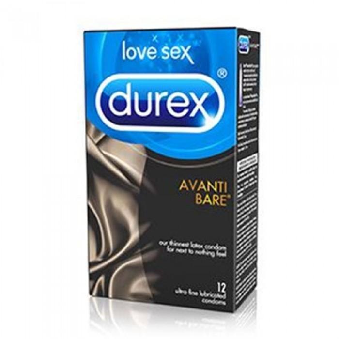 Durex Avanti Bare Sensations 12 pack