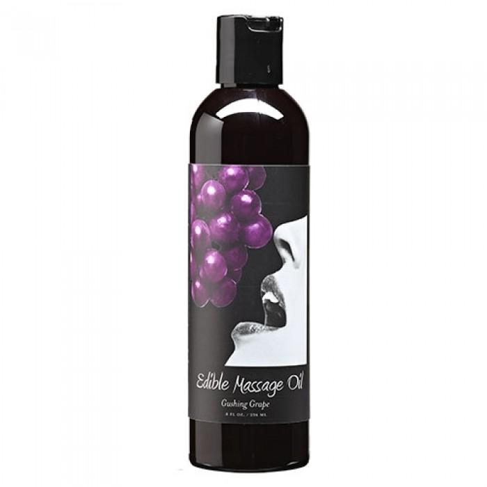 Edible Massage Oil Grape 8oz