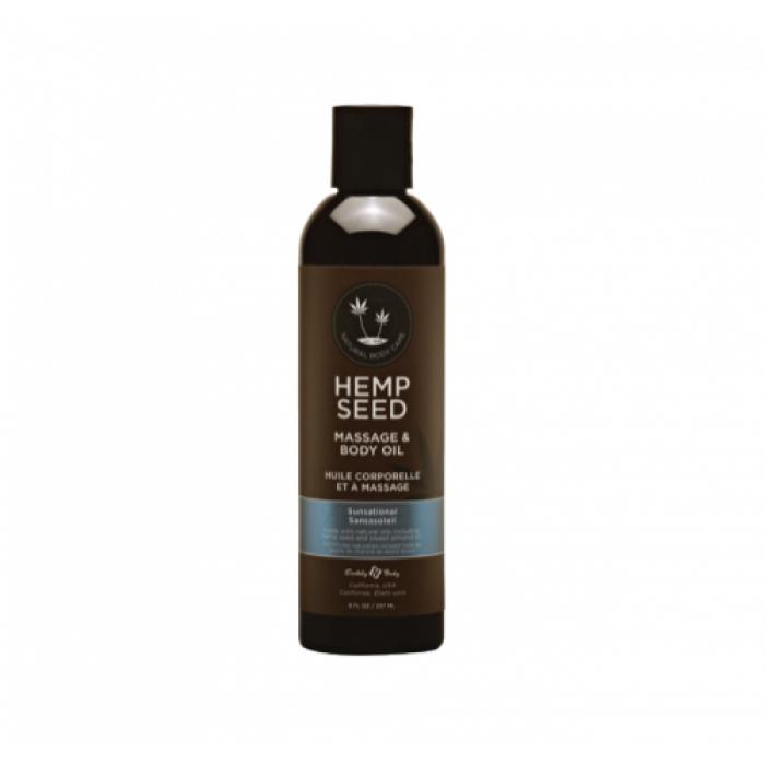 Hemp Seed Massage Oil Sunsational 8oz
