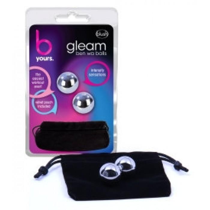 Blush - B Yours - Gleam Stainless Steel Kegel Balls