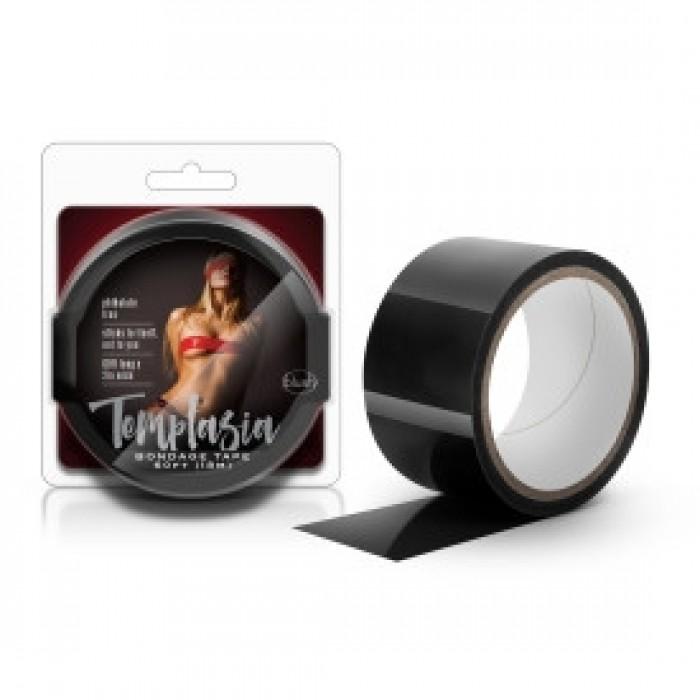 Blush - Temptasia - Bondage Tape - 60 Feet - Black