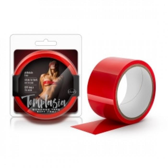 Blush - Temptasia - Bondage Tape - 60 Feet - Red