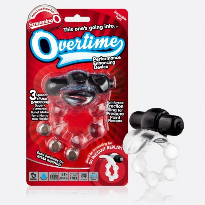 Screaming O - The Overtime (Blue Only)