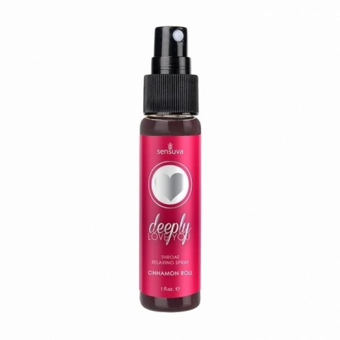 Sensuva - Deeply Love You Cinnamon Throat Relaxing Spray 1oz Bottle