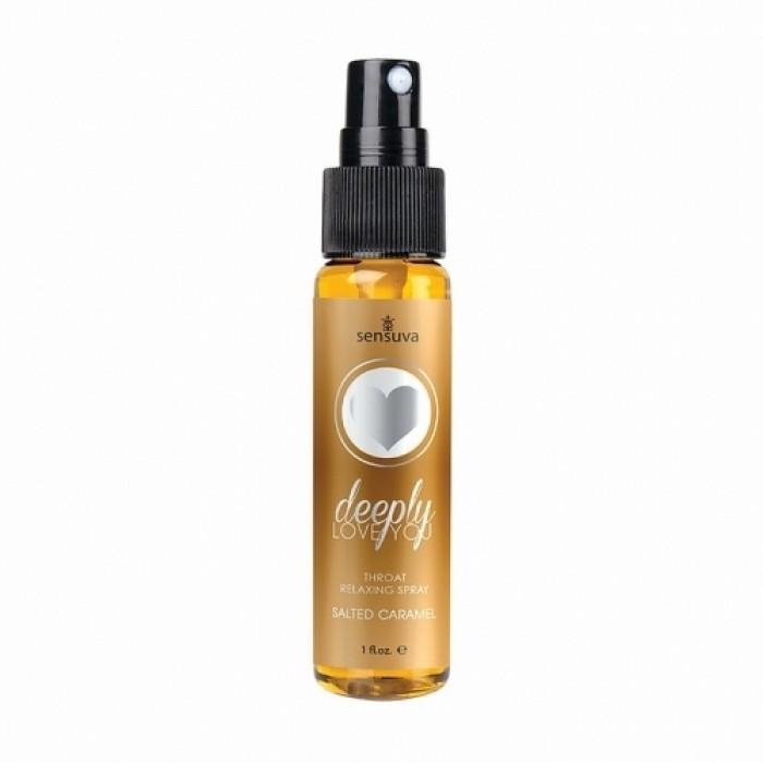 Sensuva - Deeply Love You Salted Caramel Throat Relaxing Spray 1oz