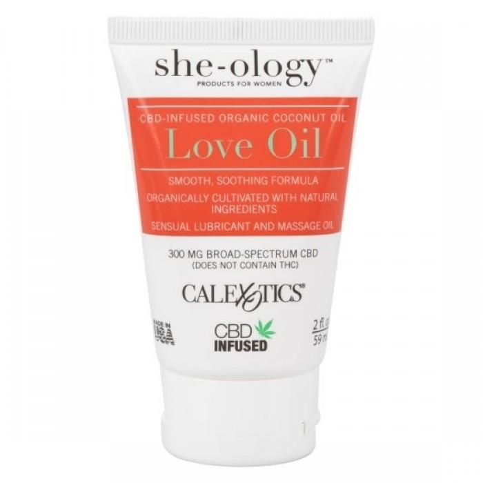 CalExotics - She-ology CBD-Infused Love Oil (Bulk)