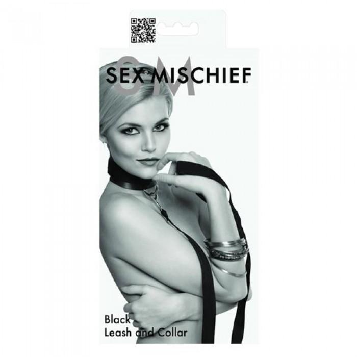 S&M - Black Leash & Collar