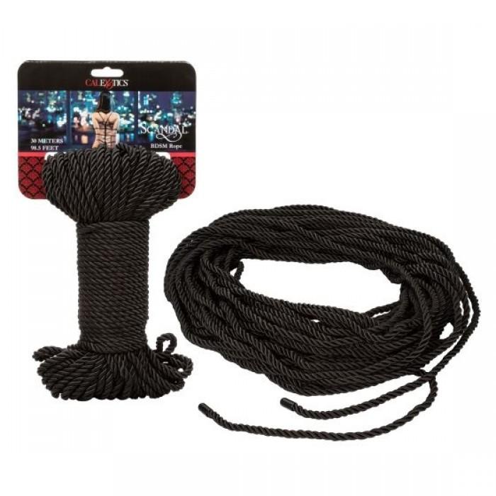Scandal BDSM Rope 30 m - Black