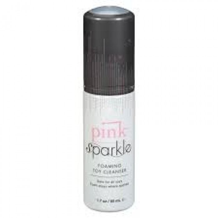 Pink Sparkle Toy Cleaner 1.7oz