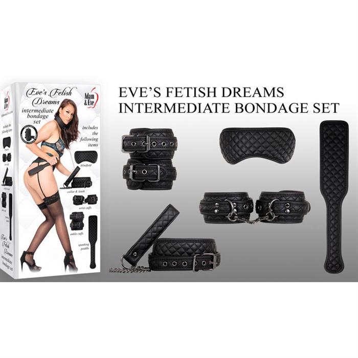 EVE'S FETISH DREAMS INTERMEDIATE BONDAGE SET