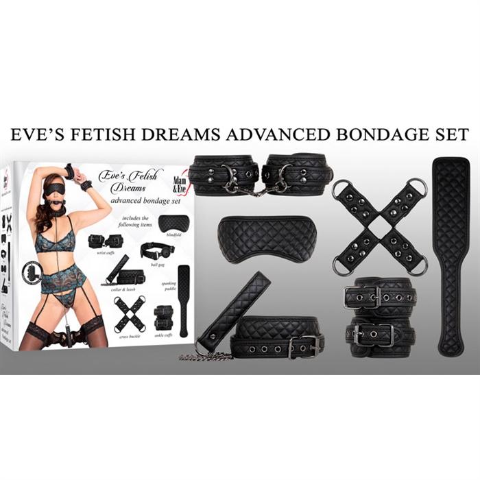 EVE'S FETISH DREAMS ADVANCED BONDAGE SET
