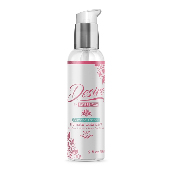 Silicone Based Intimate Lubricant 2 Oz