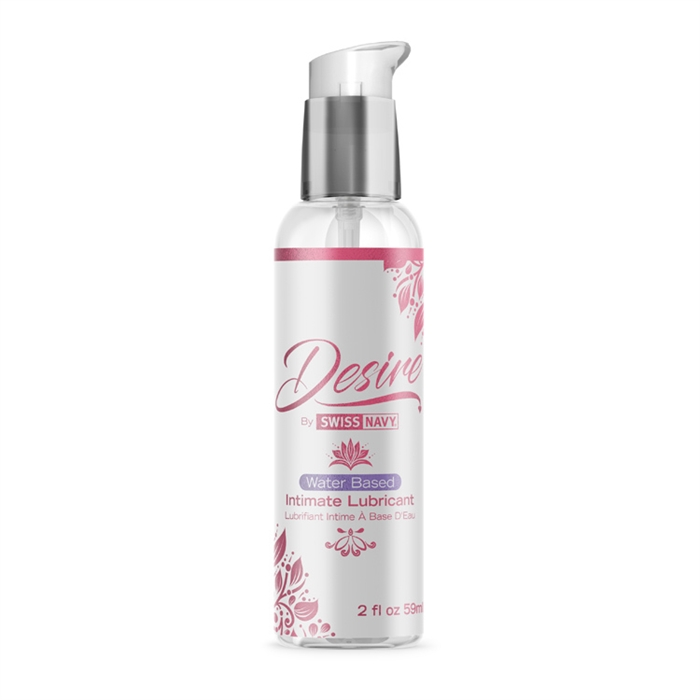 Water Based Intimate Lubricant 2 Oz