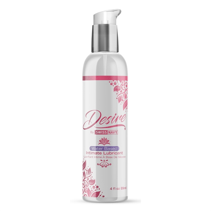 Water Based Intimate Lubricant 4 Oz