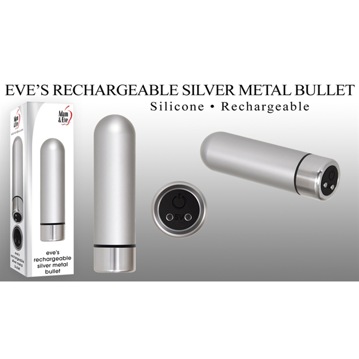 EVE'S RECHARGEABLE SILVER METAL BULLET
