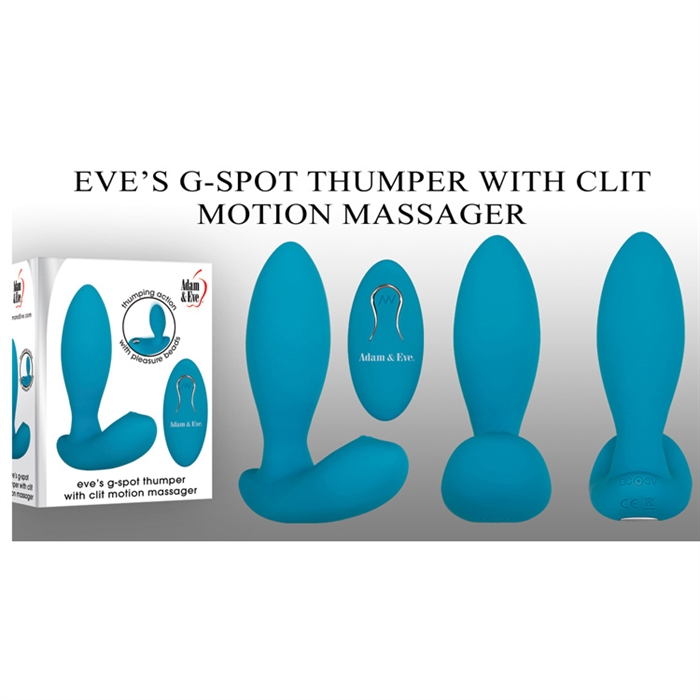 EVE'S G-SPOT THUMPER WITH CLIT MOTION MASSAGER