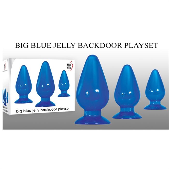 BIG BLUE JELLY BACKDOOR PLAYSET