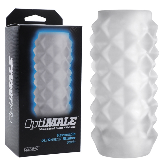 OptiMALE - Reversible ULTRASKYN Stroker - Studs