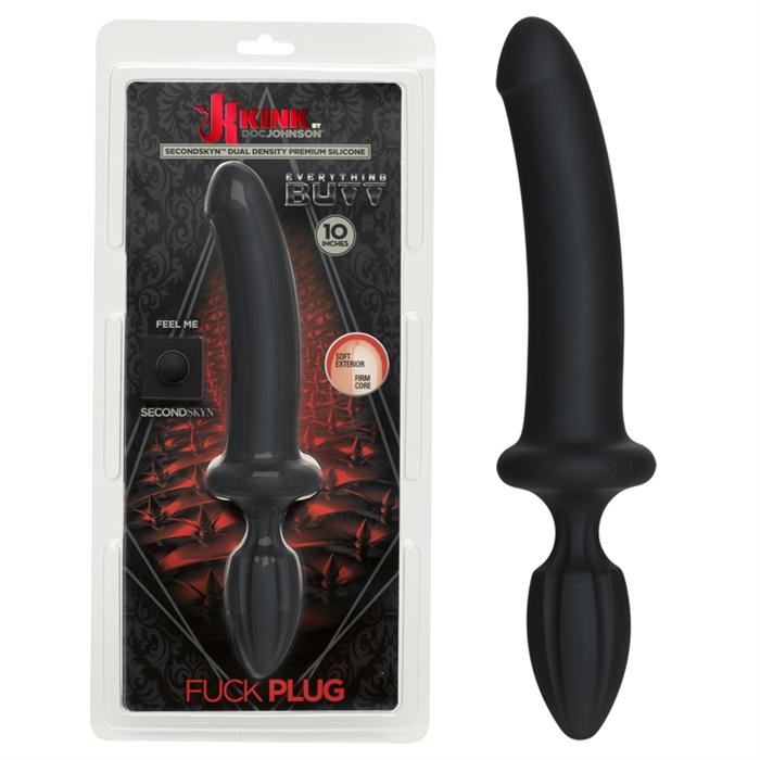 Kink - Fuck Plug - Black