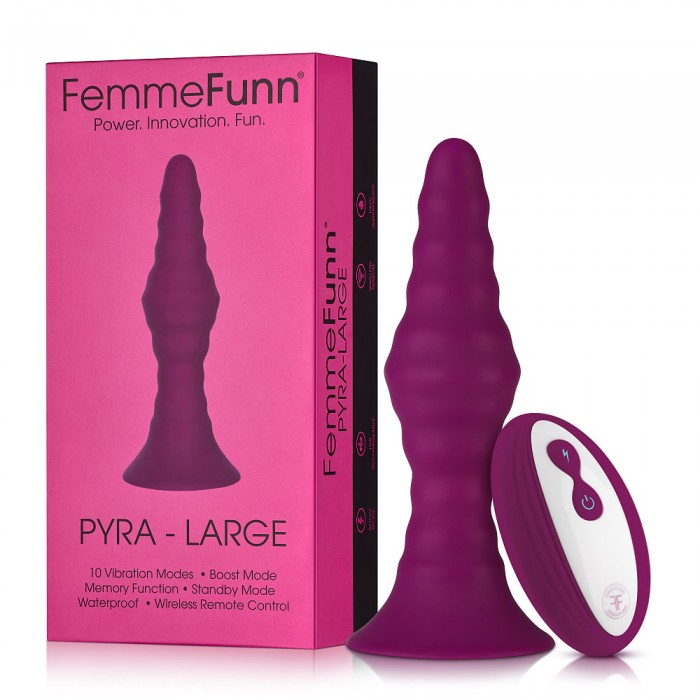 Pyra Large - Dark Fushia - Femmefunn