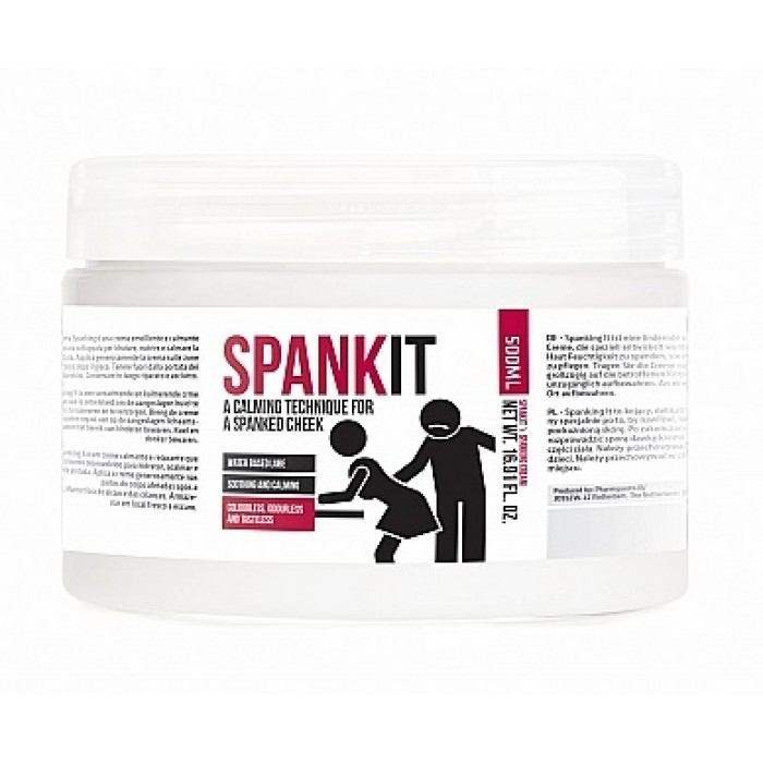 Spank It - A Calming Technique For A Spanked Cheek