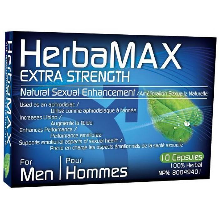 HerbaMAX Homme Désir Sexuel 10 Capsules