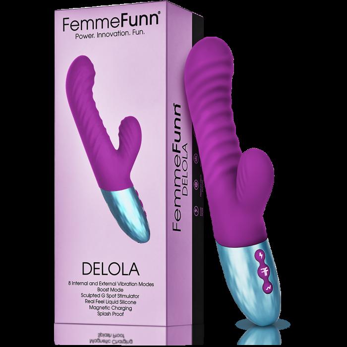 DELOLA  Purple - Femmefunn